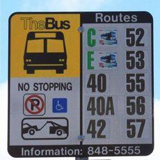 THE BUS バス停