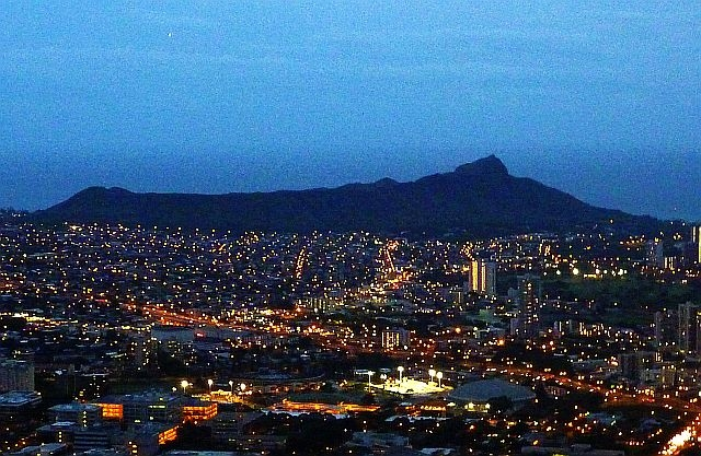 Diamondhead nightview