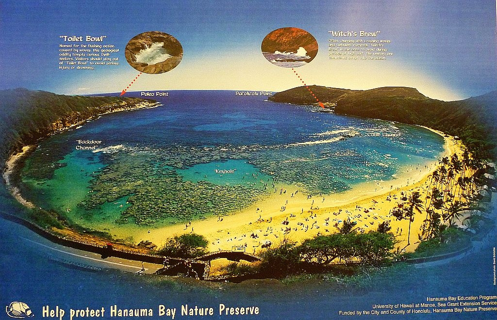 Hanauma Bay Map
