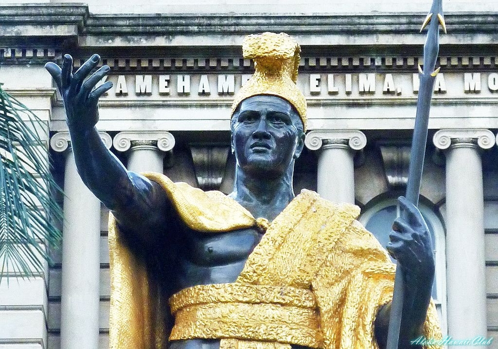 カメハメハ大王像