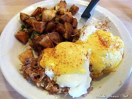 Cinnamons Eggs Benedict