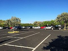 hanauma bay Parking lot