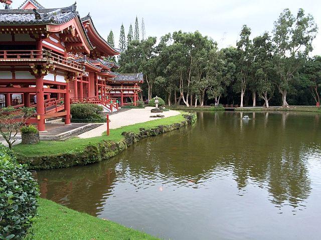 ハワイ平等院池
