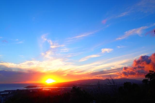 タンタラスの丘からの夕日