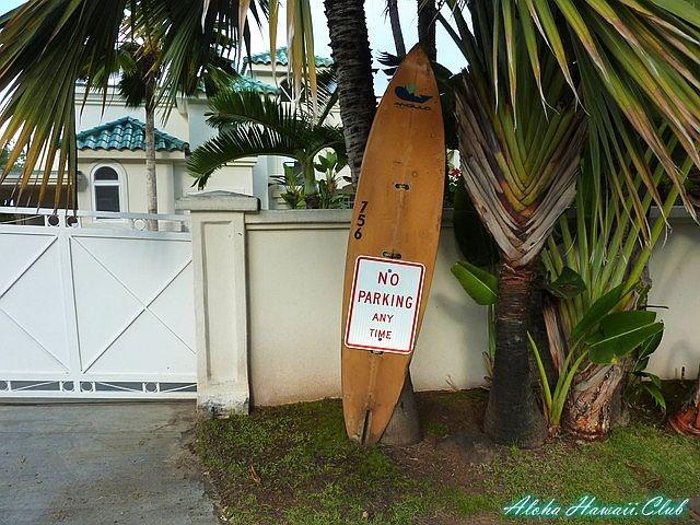 ラニカイビーチ・サーフボード