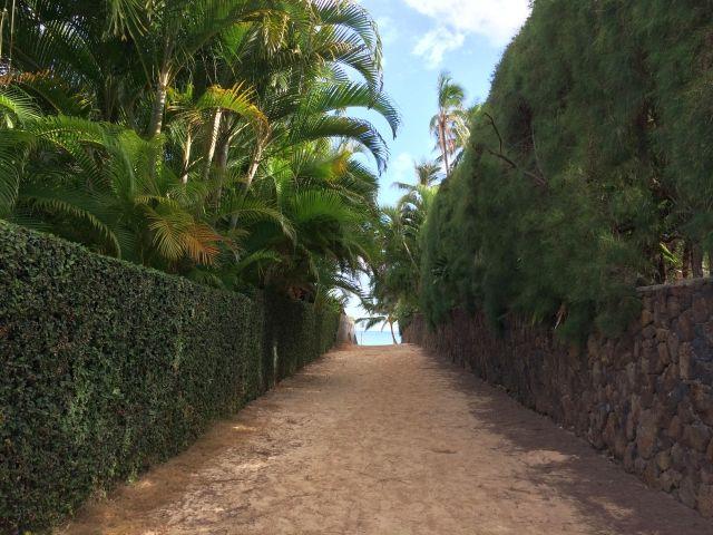 ラニカイビーチ小道