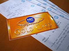 ABCストアゴールドカード