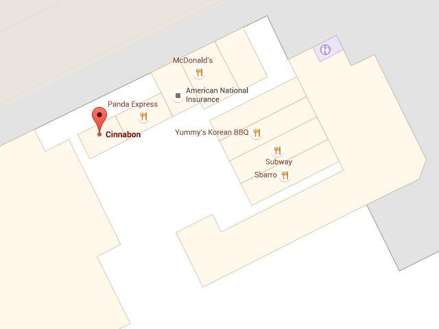 シナボンのパールリッジセンター店
