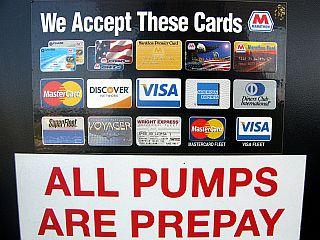 ガソリンスタンドで使えるクレジットカード