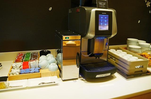 JALサクララウンジのコーヒー