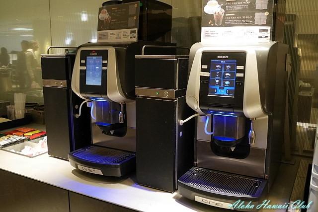 ANAラウンジのコーヒーサーバー