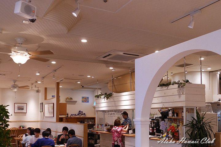 エッグスンシングス横浜山下公園店店内
