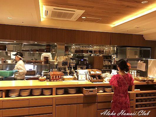 カフェ・カイラのキッチン