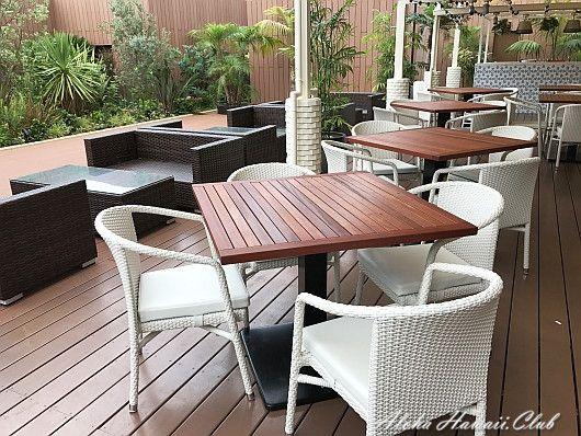 カフェ・カイラ渋谷店のテラス席
