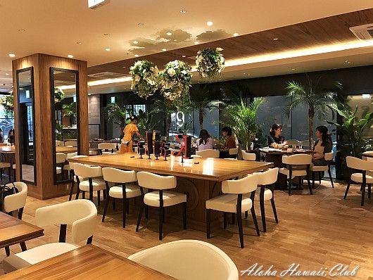 カフェ・カイラ渋谷店の店内