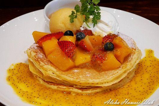 クアアイナ横浜店のパンケーキ