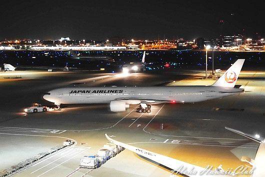 羽田国際空港の飛行機
