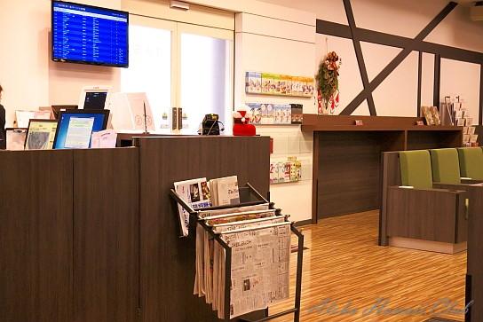 成田空港IASSラウンジ入口