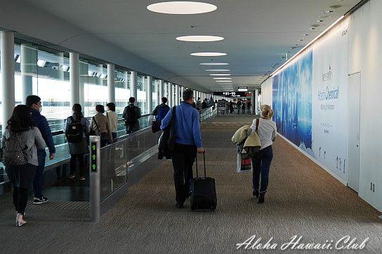 成田空港通路