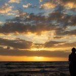 ハワイの夕陽